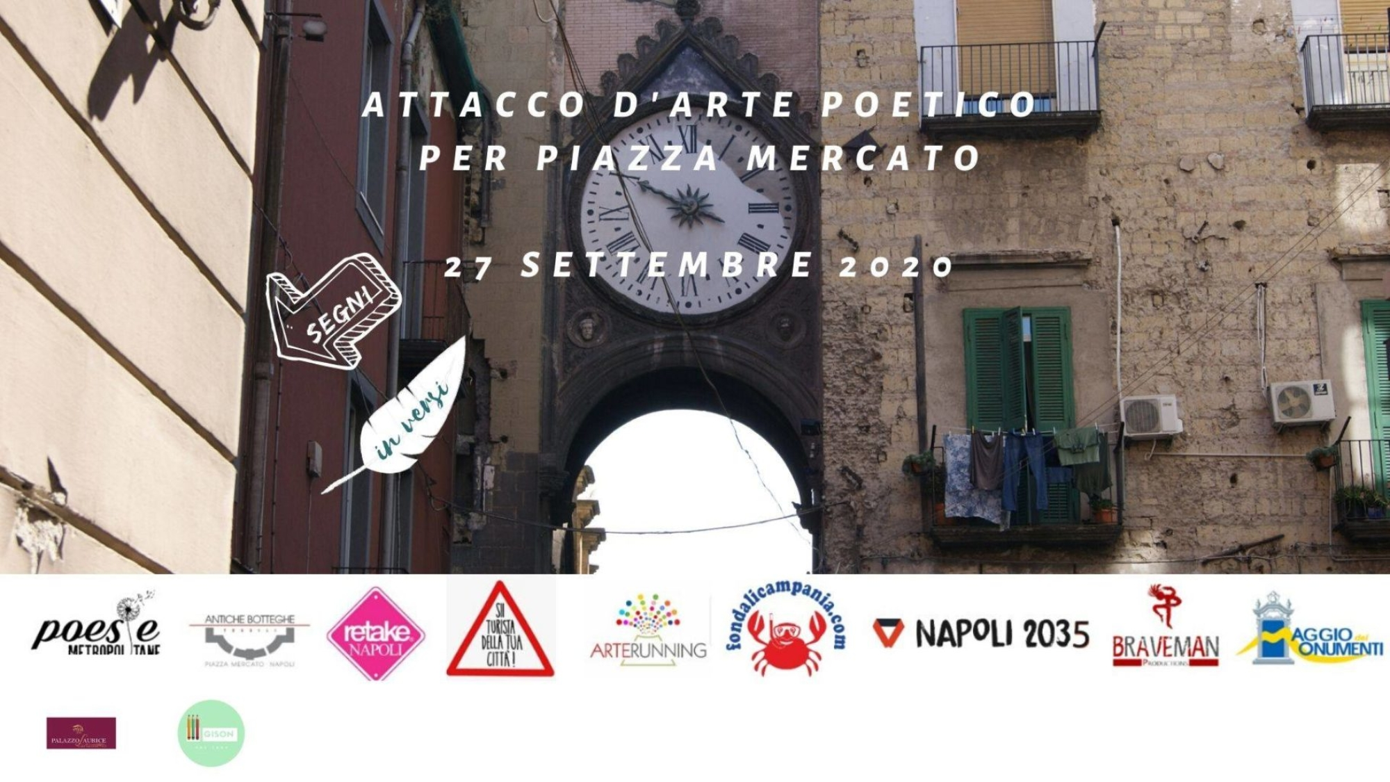 locandina evento poesie 27 settembre 2020